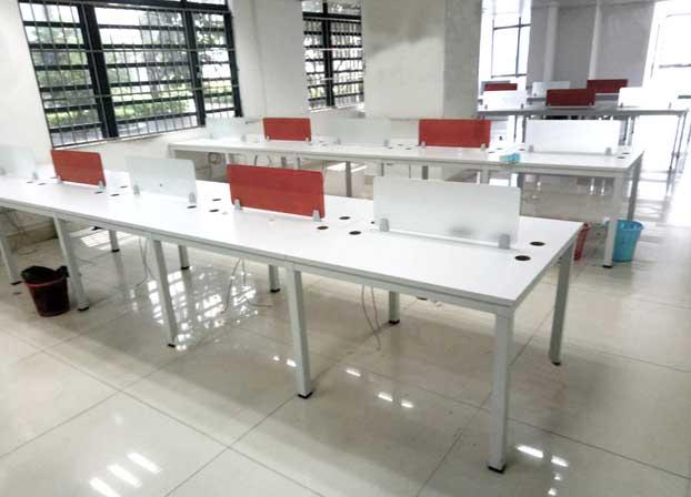 办公家具组合屏风职员办公桌8人位工位简约现代办工桌