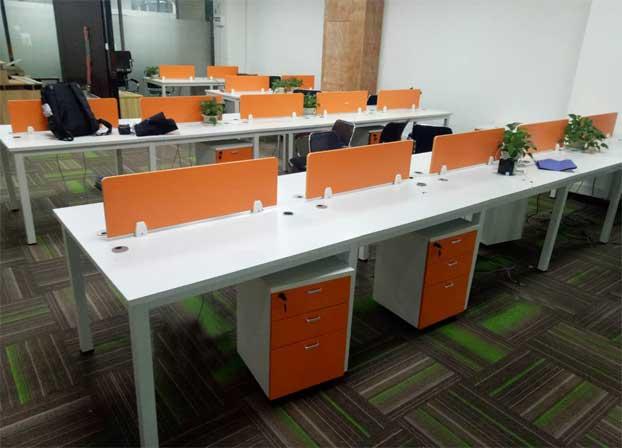 屏风办公桌职员办公桌工位桌电脑桌二手办公家具