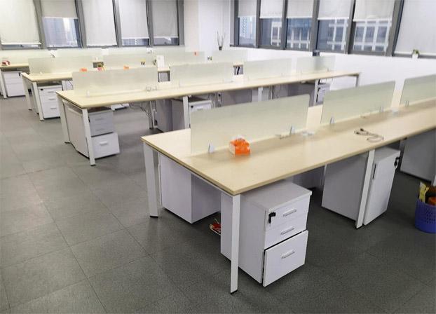 二手电脑桌工位桌员工办公桌职员工作台