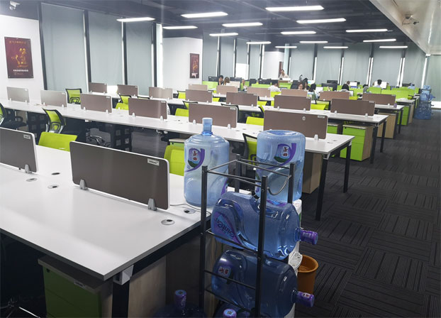 现代简约二手电脑桌工位桌员工办公桌
