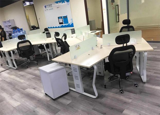 二手办公室花式电脑桌工位桌员工办公桌