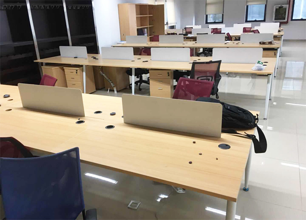 二手现代简约员工电脑桌工位桌职员办公桌