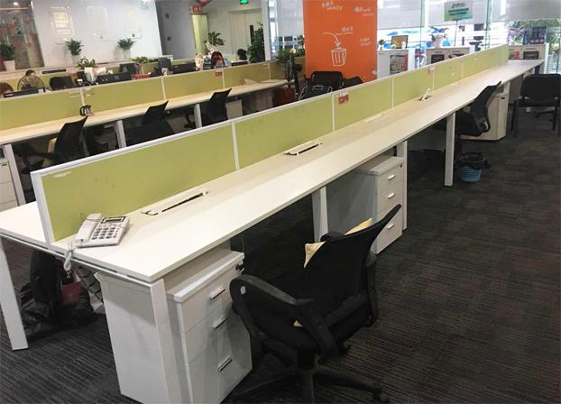 二手职员办公桌员工电脑桌工作位