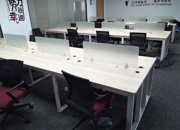 二手办公桌职员电脑桌员工工作台