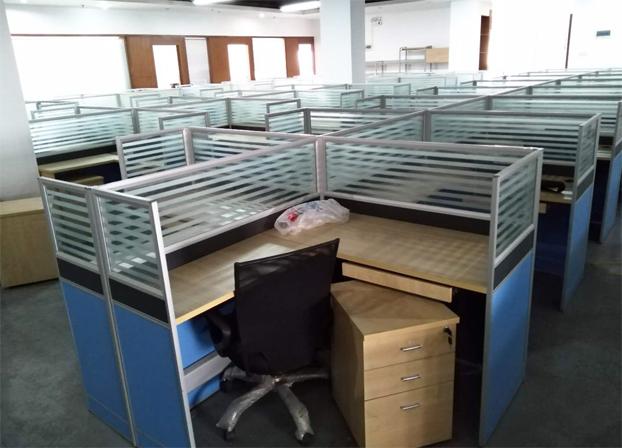 二手现代简约电脑桌工位桌员工办公桌