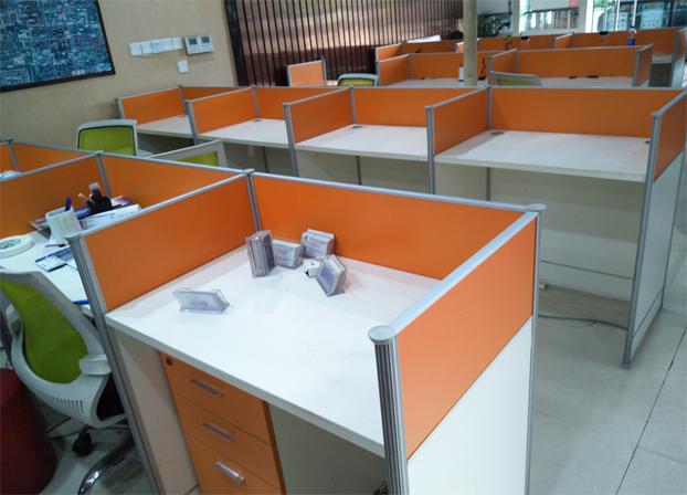二手员工工作台职员电脑桌工位桌