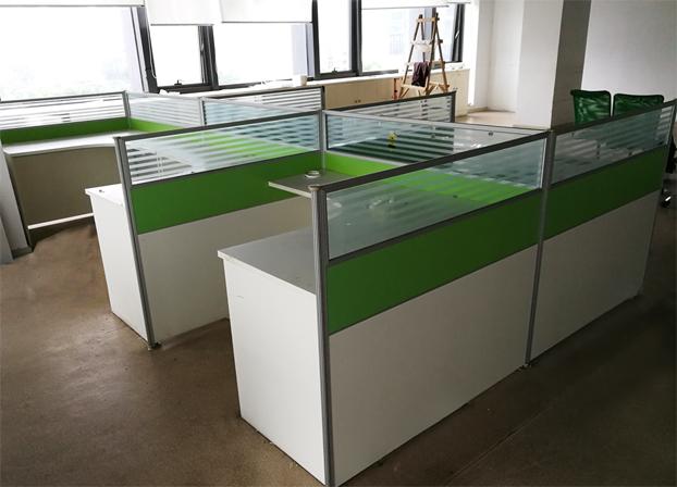 二手办公卡座电脑桌工位桌员工办公桌