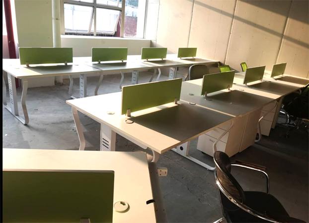 二手职员电脑桌工位桌员工办公桌