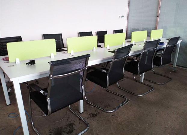 二手简约电脑桌工位桌员工办公桌