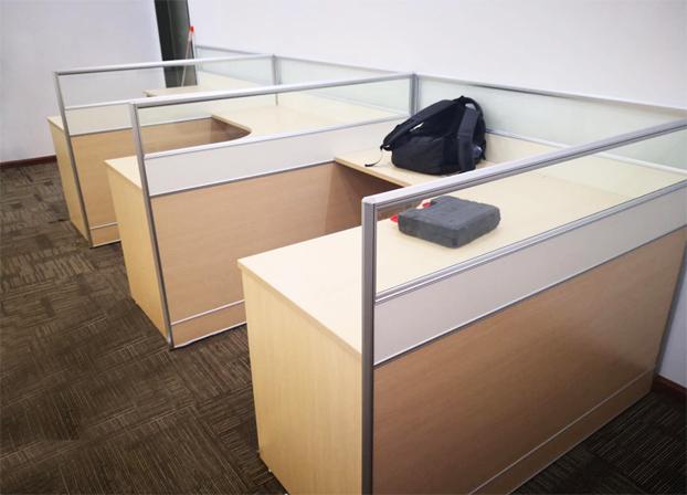 二手职员电脑桌工位桌员工办公桌卡座