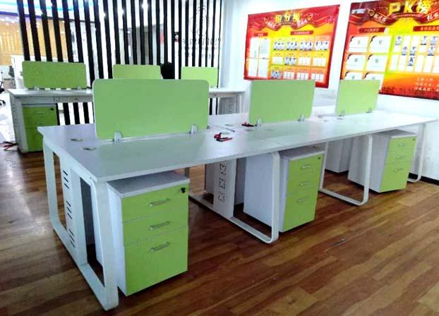 二手办公桌简约现代屏风工位职员电脑办工桌