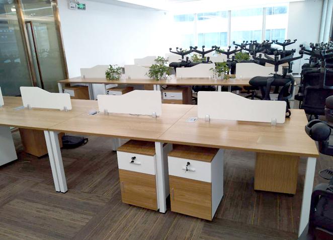 职员办公桌简约现代多人员工位办公室电脑办公桌