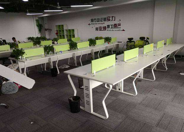 办公家具办公桌简约现代屏风办公桌