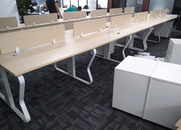 职员办公桌简约现代屏风工作位