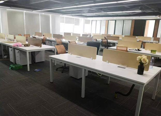 职员办公桌简约现代桌电脑屏风工作桌工位