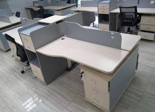 办公家具卡座四4人位员工办公室桌子工位职员办公桌