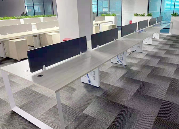 办公家具职员办公桌4人办公卡位员工6人屏风工位