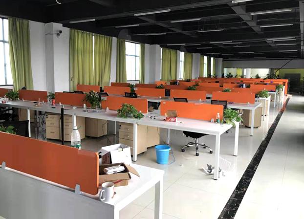 办公家具现代职员办公屏风卡位员工电脑桌椅