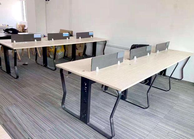 办公桌椅组合现代简约职员员工办公室电脑桌