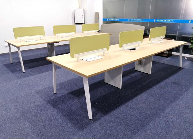 办公室职员办公桌简约电脑桌工位办公桌