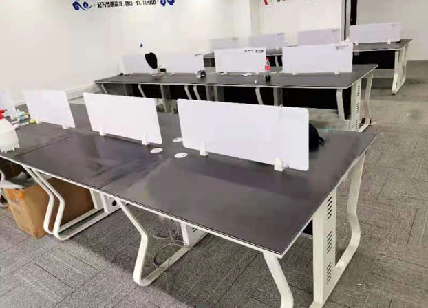 办公室简约现代职员桌电脑桌办公桌椅组合屏风办公卡位