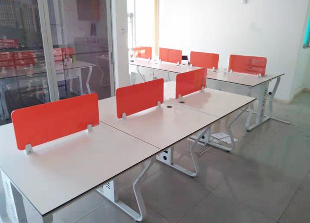 职员办公桌员工桌子简约现代办公卡位桌
