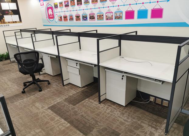 办公桌职员桌椅组合卡座屏风型卡位
