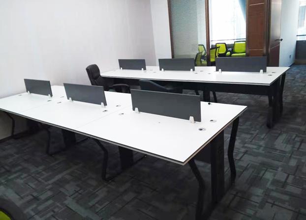 卡位办公桌职员简约电脑屏风办工桌公司工作桌