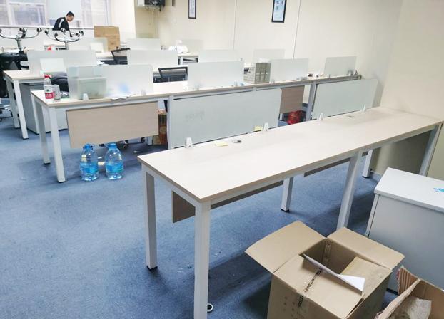 办公桌简约现代屏风职员桌隔断员工电脑桌卡座