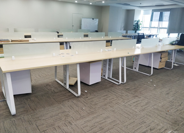 职员办公桌椅组合简约现代办公室工作卡位