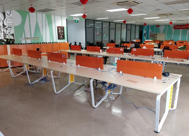 办公家具办公桌职员桌简约现代办公屏风卡位员工桌