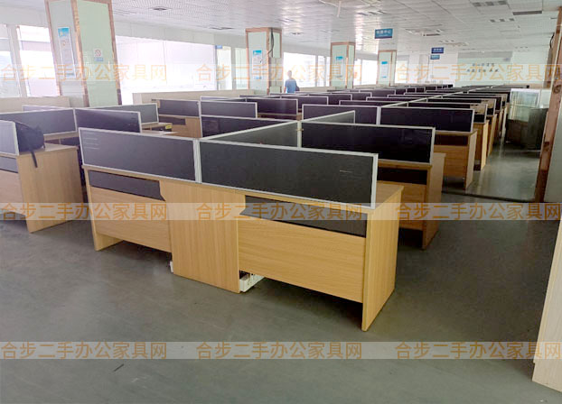办公桌简约现代L型职员桌工位桌办公室桌子