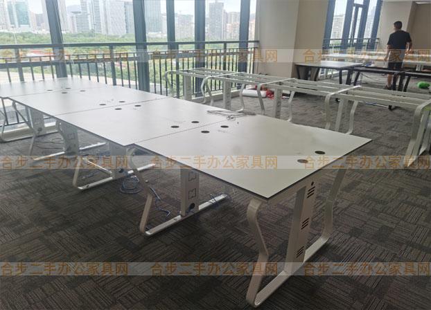 办公桌椅组合简约现代卡位职员工位办公室桌子