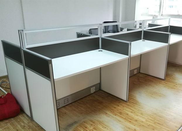 办公桌屏风 隔断工作位卡位职员桌