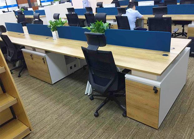 屏风隔断办公桌职员桌椅电脑桌员工卡位