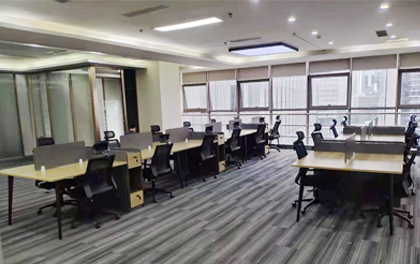 合步二手办公家具安装服务案例——龙华唐小姐