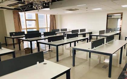 合步二手办公家具安装服务案例——惠州北德威大厦曾总