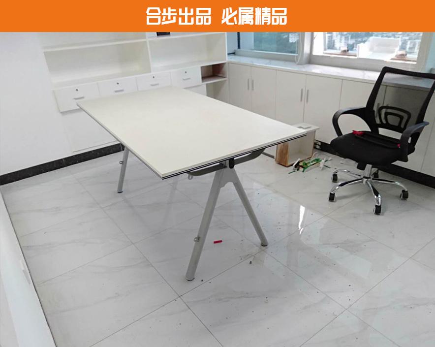 会议桌长桌简约现代长方形洽谈桌