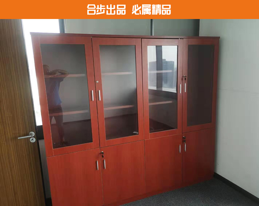 木质文件柜资料档案柜办公室书柜板式书架