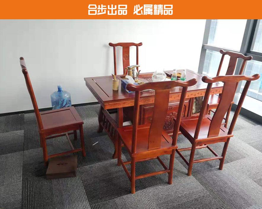 合步二手办公家具网,二手办公茶几,洽谈茶台,二手会客桌