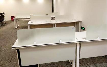 合步二手办公家具安装服务案例——南山科技园伍先生
