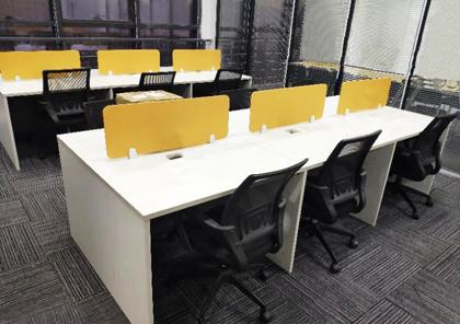 合步二手办公家具安装服务案例——坂田陈小姐