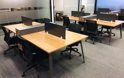 合步二手办公家具安装服务案例——福永邱先生