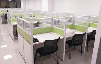 合步二手办公家具安装服务案例——互联网类公司罗先生