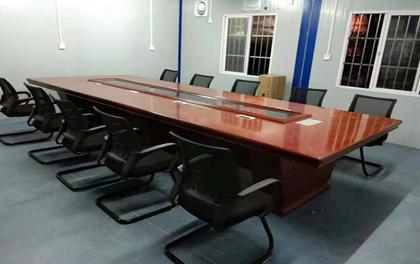 合步二手办公家具安装服务案例——南山徐总