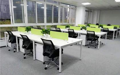 合步二手办公家具安装服务案例——福田刘先生