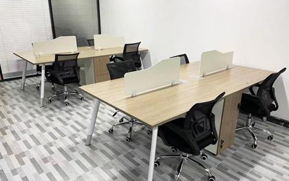 合步二手办公家具安装服务案例——中海信李先生