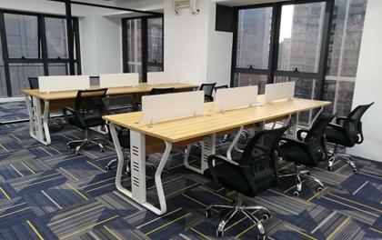合步二手办公家具安装服务案例——西乡徐先生