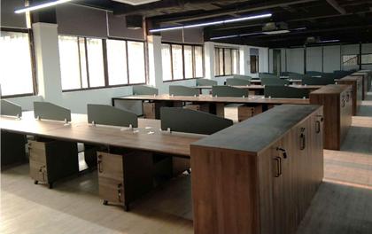 合步二手办公家具安装服务案例——福田习小姐