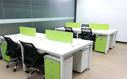 合步二手办公家具安装服务案例——宝安福永魏先生